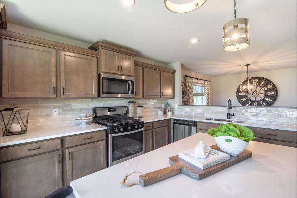 Kitchen featured in the Integrity 2280 By Allen Edwin Homes in South Bend, IN
