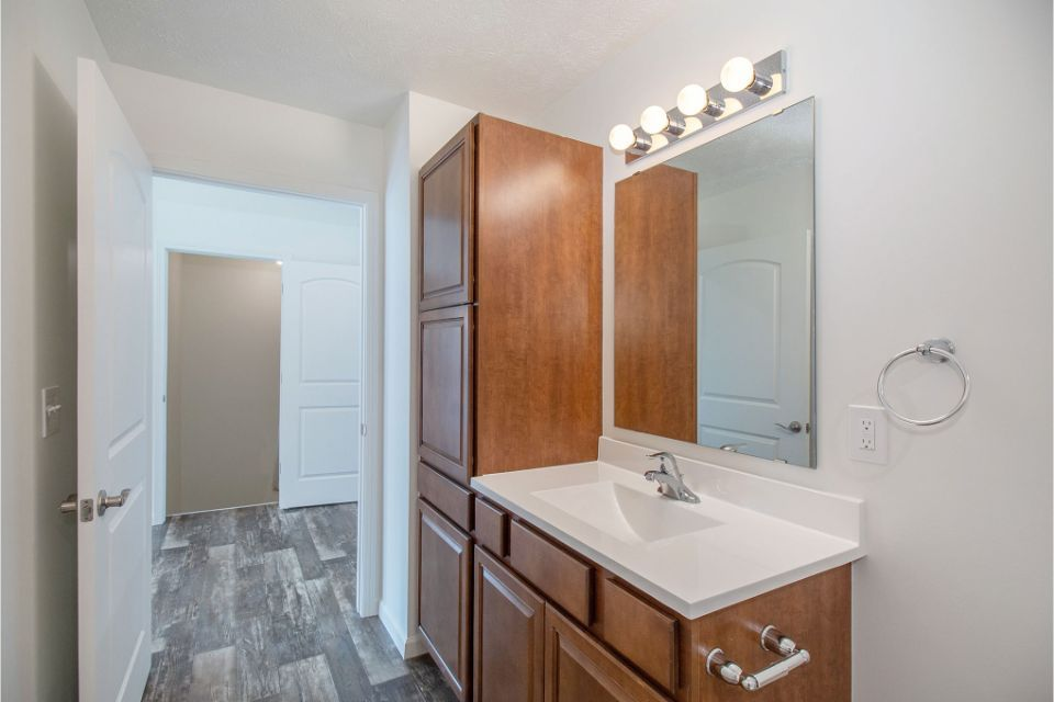 Bathroom featured in the Integrity 1250 By Allen Edwin Homes in Grand Rapids, MI