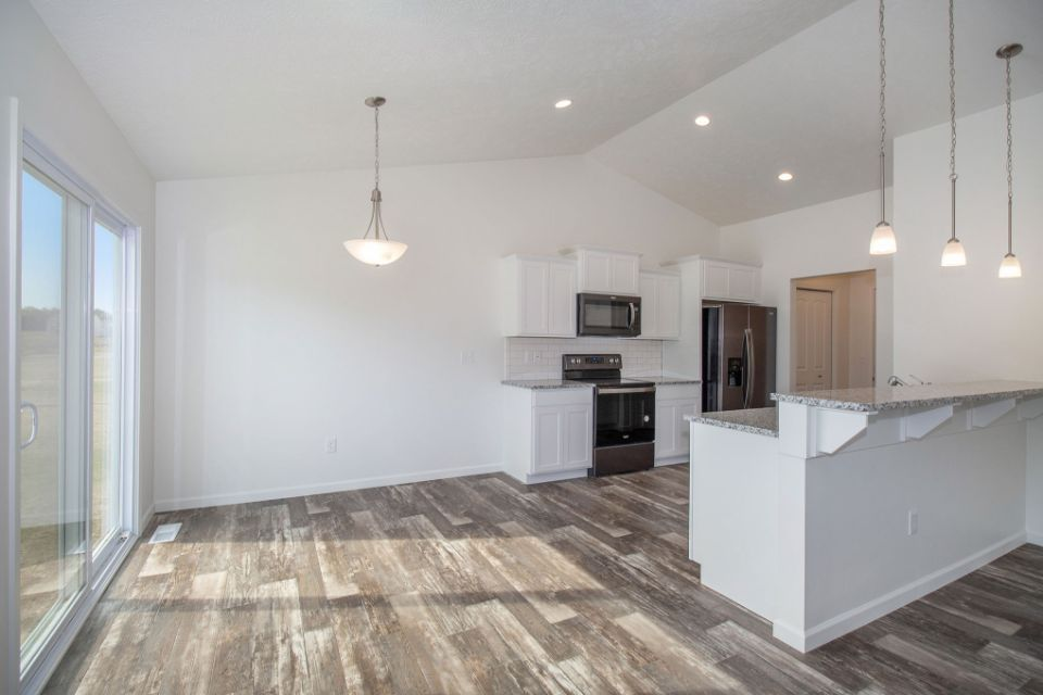 Kitchen featured in the Integrity 1250 By Allen Edwin Homes in Grand Rapids, MI