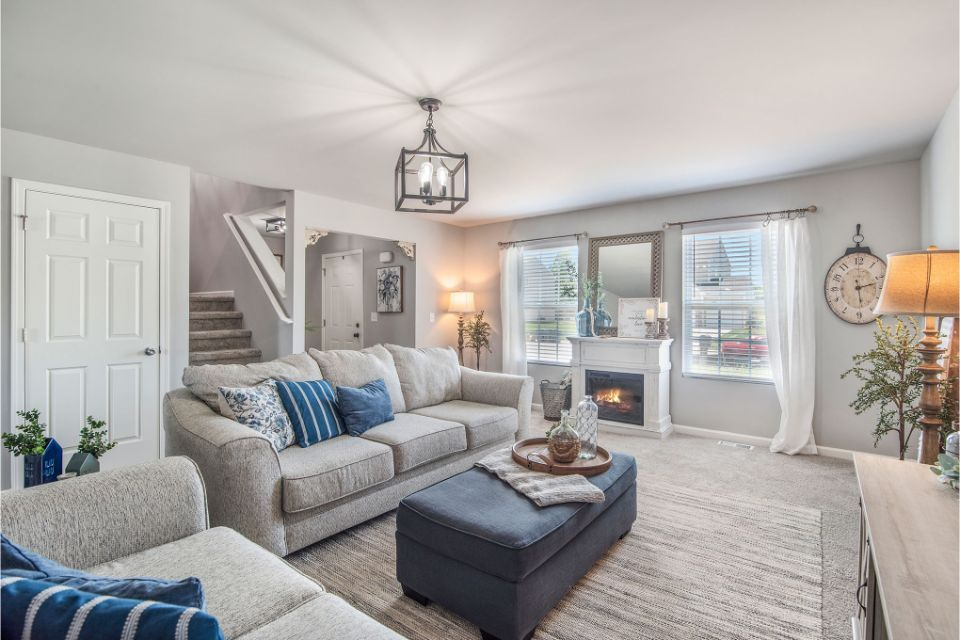 Living Area featured in the Integrity 1830 By Allen Edwin Homes in South Bend, IN