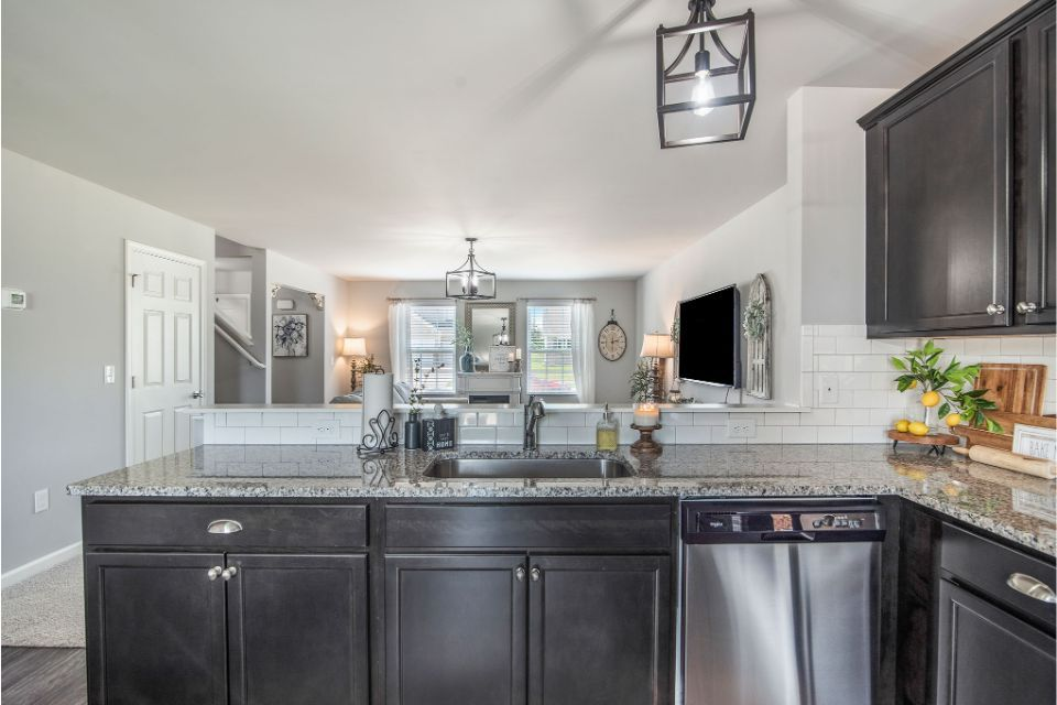 Kitchen featured in the Integrity 1830 By Allen Edwin Homes in South Bend, IN