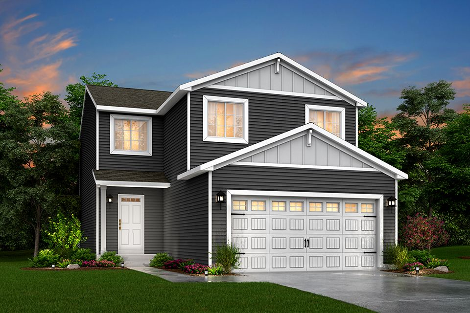 Exterior featured in the Integrity 1835 By Allen Edwin Homes in Ann Arbor, MI