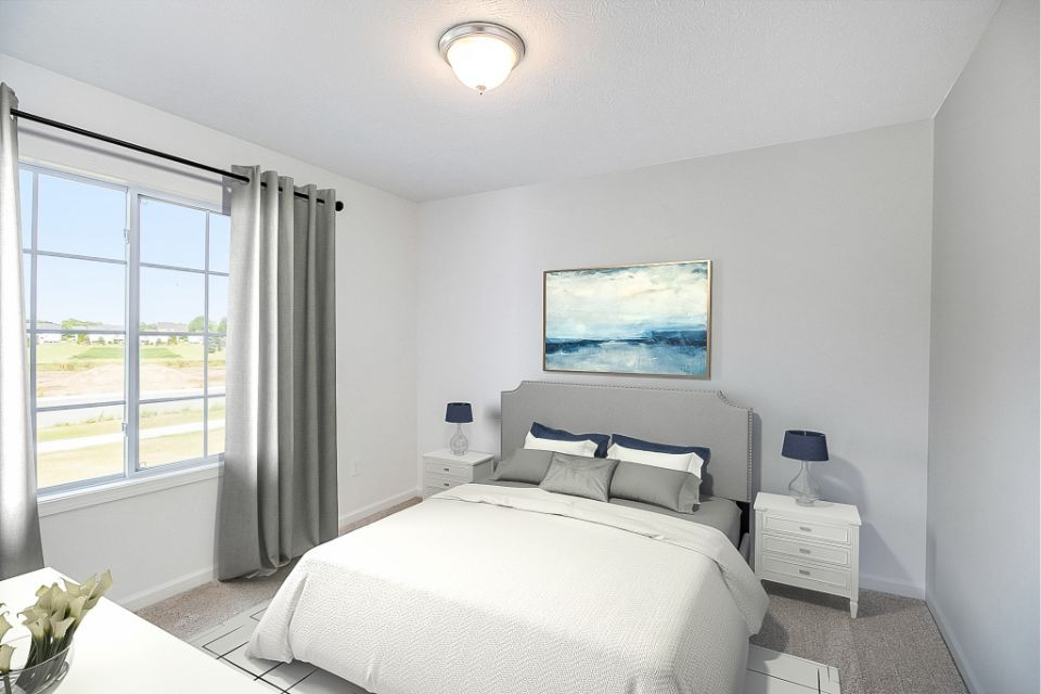 Bedroom featured in the Integrity 1250 By Allen Edwin Homes in Grand Rapids, MI