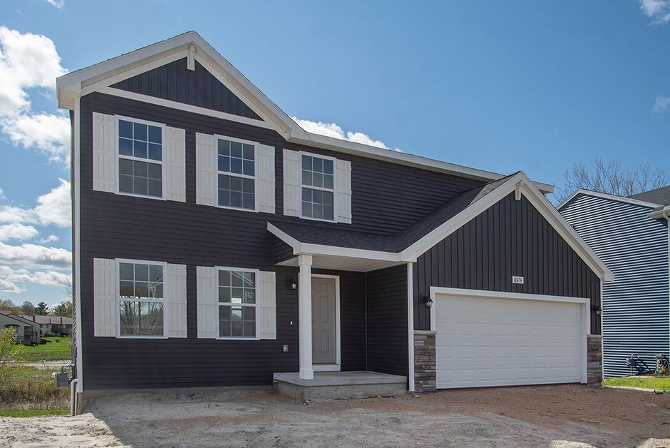 Exterior featured in the Integrity 1810 By Allen Edwin Homes in Flint, MI