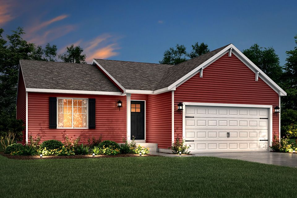 Exterior featured in the Integrity 1250 By Allen Edwin Homes in Grand Rapids, MI