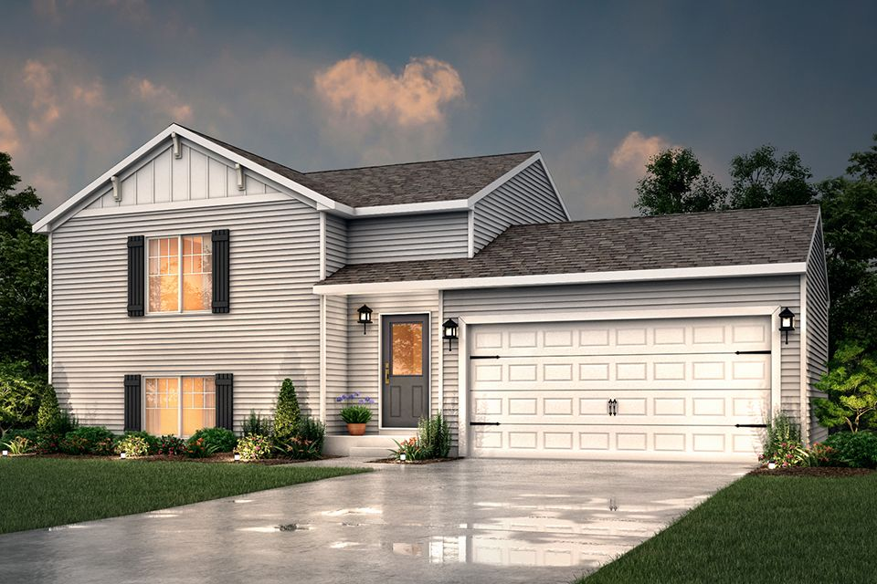 Exterior featured in the Integrity 1460 By Allen Edwin Homes in Elkhart-Goshen, IN