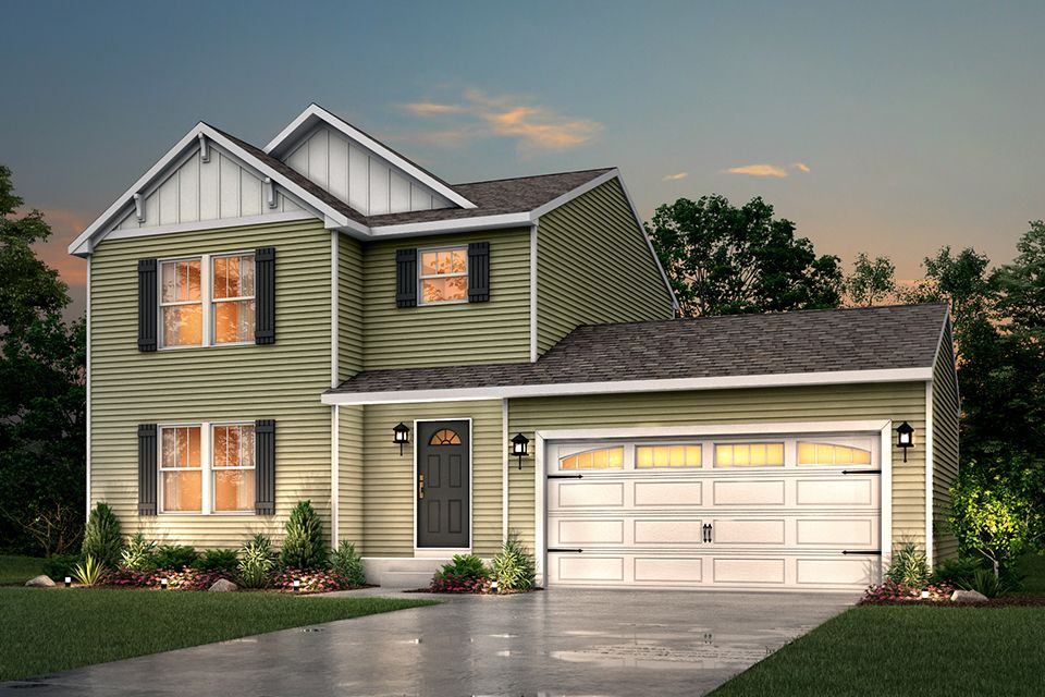 Exterior featured in the Integrity 1520 By Allen Edwin Homes in Elkhart-Goshen, IN