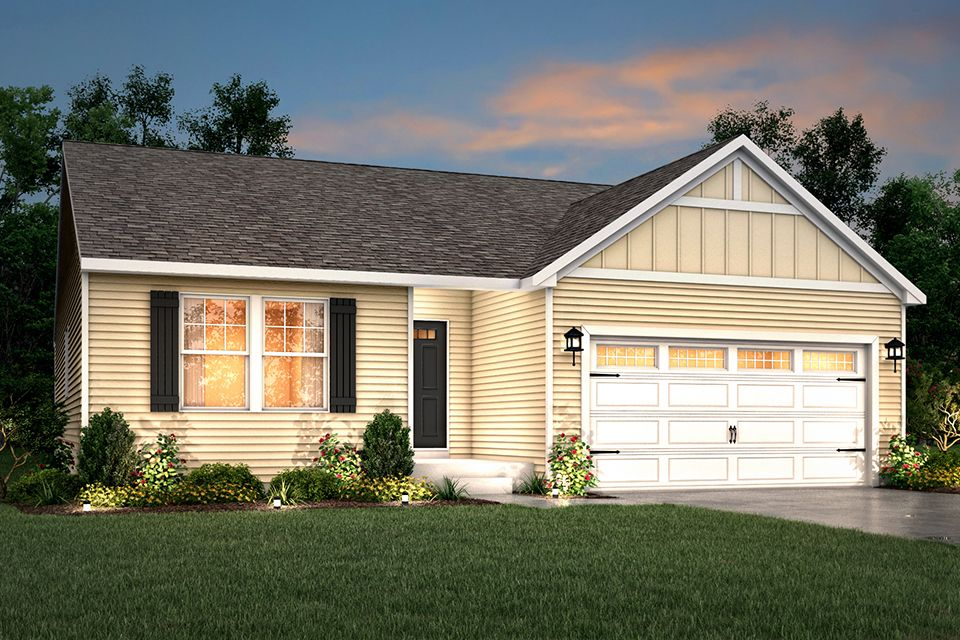 Exterior featured in the Integrity 1530 By Allen Edwin Homes in Ann Arbor, MI