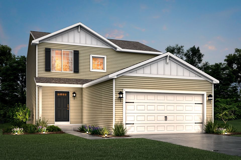Exterior featured in the Integrity 1560 By Allen Edwin Homes in Flint, MI