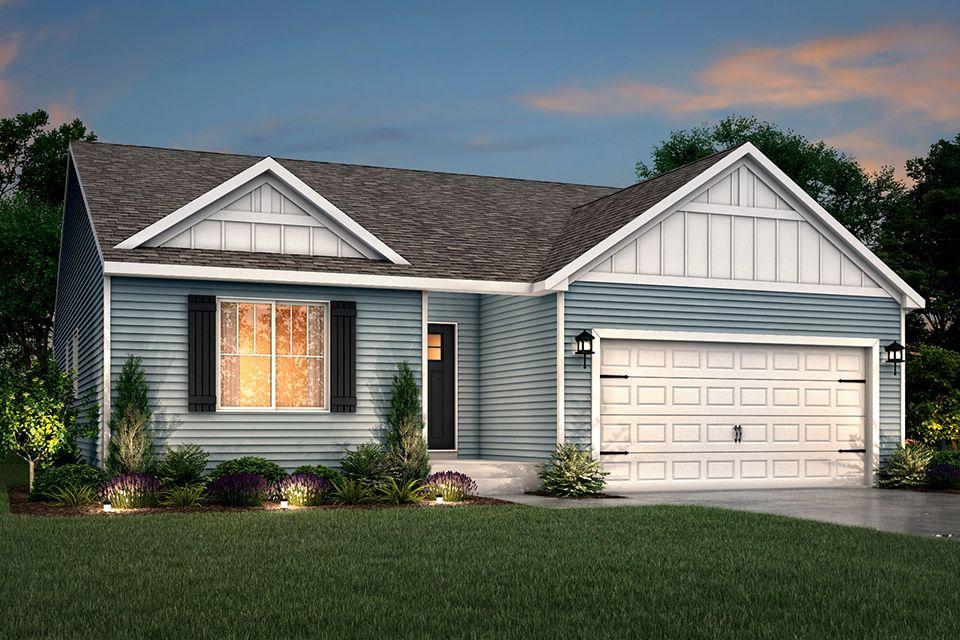 Exterior featured in the Integrity 1610 By Allen Edwin Homes in Kalamazoo-Battle Creek, MI