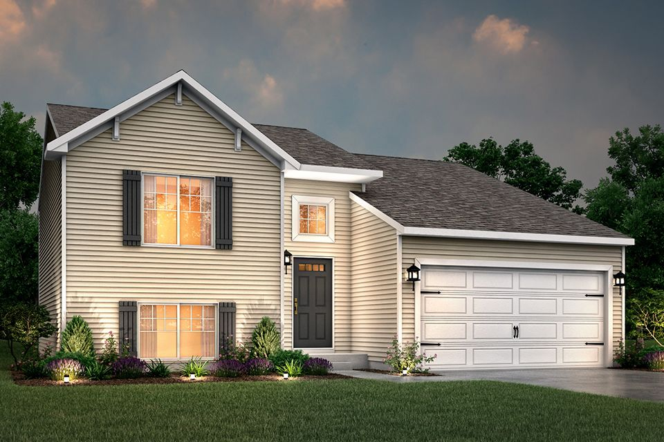 Exterior featured in the Integrity 1750 By Allen Edwin Homes in Elkhart-Goshen, IN