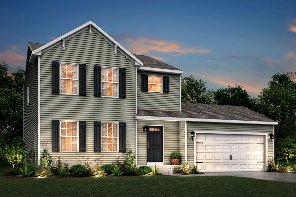 Exterior featured in the Integrity 1830 By Allen Edwin Homes in South Bend, IN