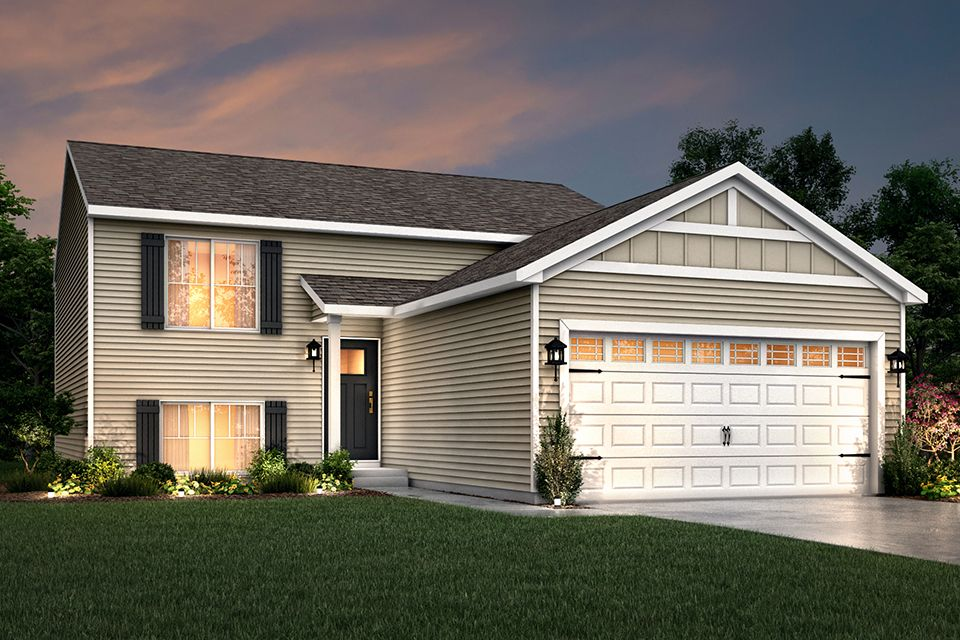 Exterior featured in the Integrity 2060 By Allen Edwin Homes in Ann Arbor, MI