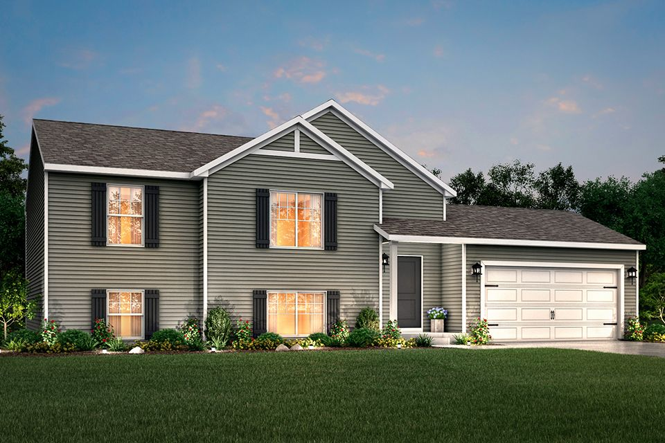 Exterior featured in the Integrity 2190 By Allen Edwin Homes in Ann Arbor, MI