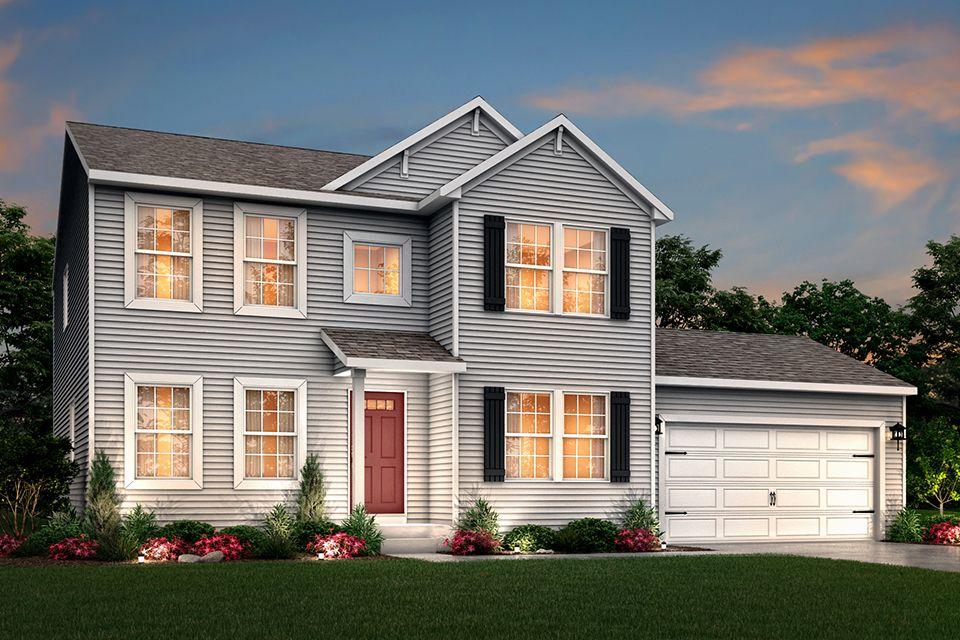 Exterior featured in the Integrity 2280 By Allen Edwin Homes in Kalamazoo-Battle Creek, MI