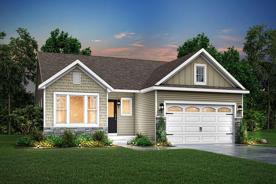 Exterior featured in the Elements 1600 By Allen Edwin Homes in Benton Harbor, MI