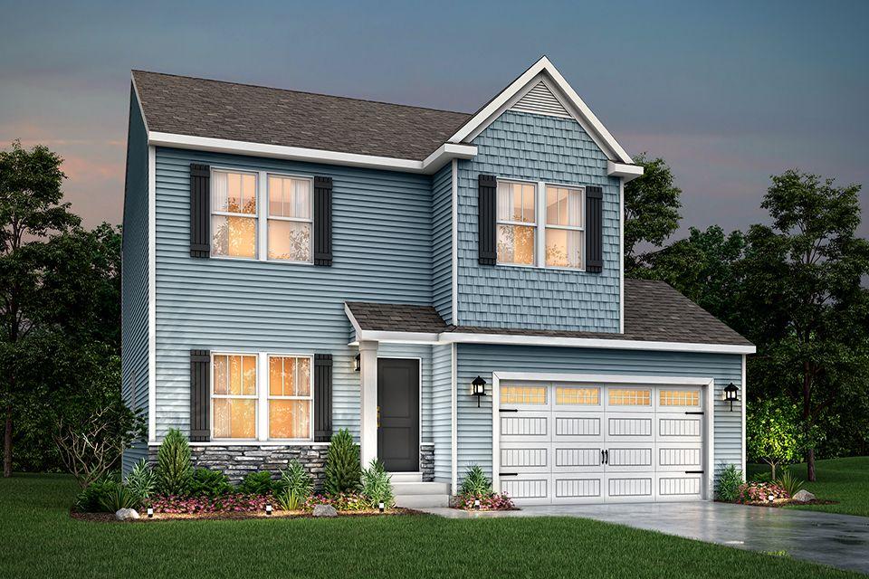 Exterior featured in the Elements 2100 By Allen Edwin Homes in Kalamazoo-Battle Creek, MI