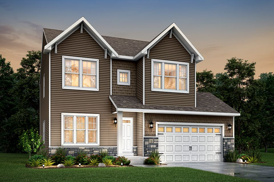 Exterior featured in the Elements 2200 By Allen Edwin Homes in Grand Rapids, MI