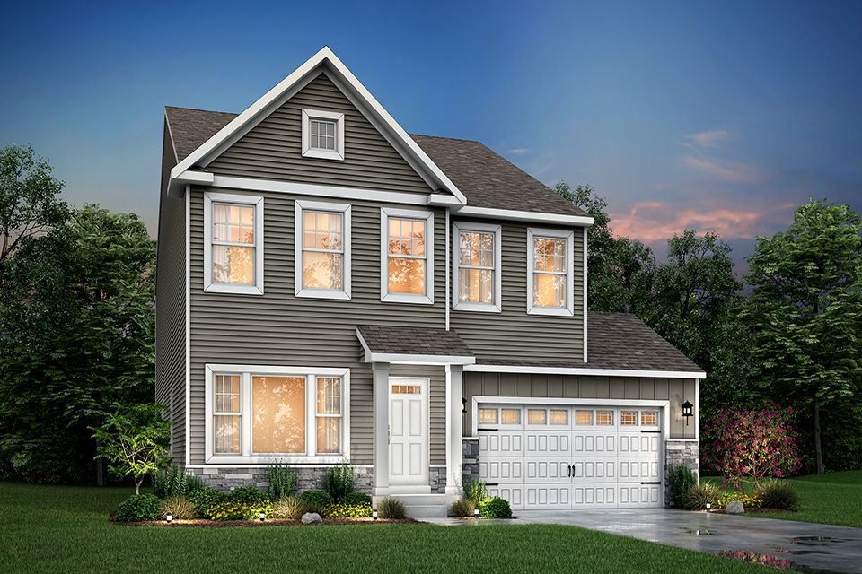 Exterior featured in the Elements 2600 By Allen Edwin Homes in South Bend, IN