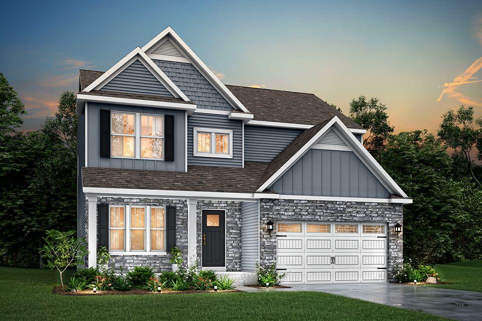 Exterior featured in the Elements 2700 By Allen Edwin Homes in Kalamazoo-Battle Creek, MI