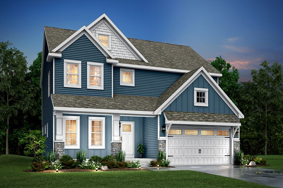 Exterior featured in the Traditions 2200 V8.0b By Allen Edwin Homes in Kalamazoo-Battle Creek, MI