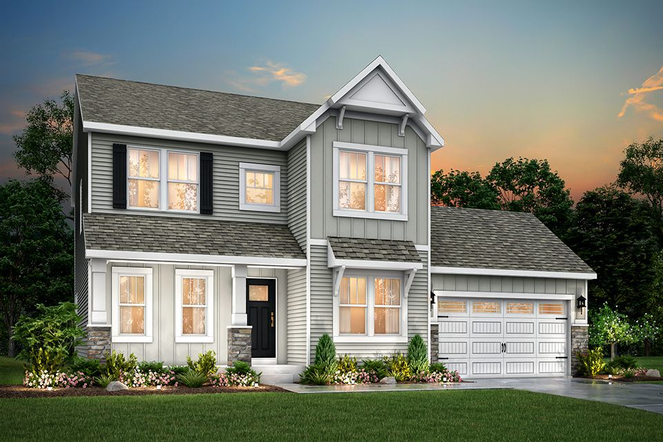 Exterior featured in the Traditions 2300 V8.0b By Allen Edwin Homes in Grand Rapids, MI