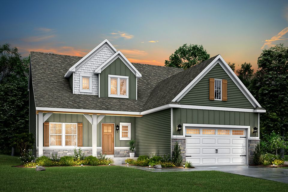 Exterior featured in the Traditions 2330 V8.0b By Allen Edwin Homes in Benton Harbor, MI