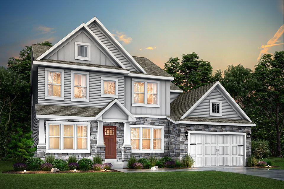 Exterior featured in the Traditions 2800 V8.0b By Allen Edwin Homes in Kalamazoo-Battle Creek, MI