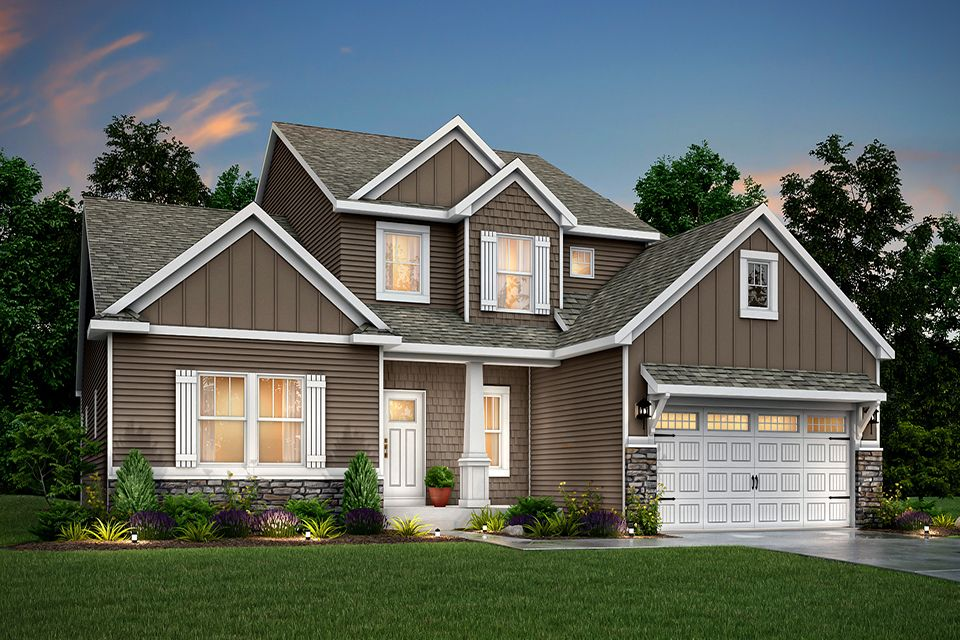 Exterior featured in the Traditions 2900 V8.2b By Allen Edwin Homes in Kalamazoo-Battle Creek, MI