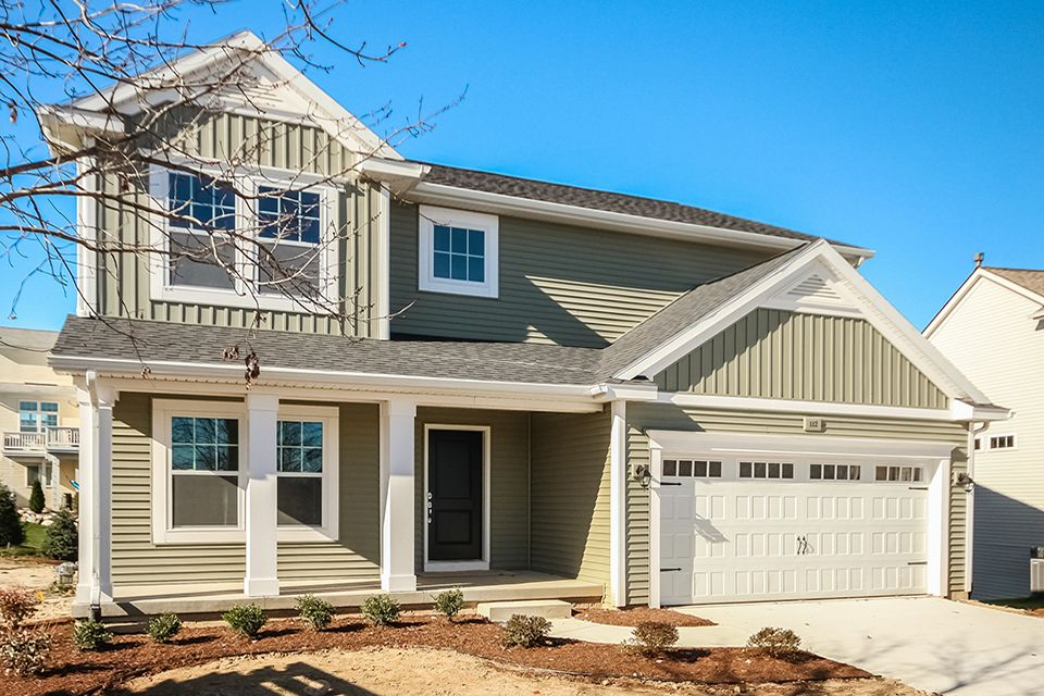 Exterior featured in the Elements 2390 By Allen Edwin Homes in Flint, MI