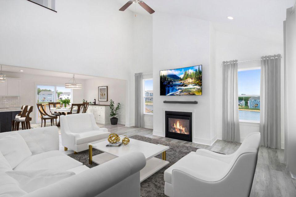 Living Area featured in the Elements 1800 By Allen Edwin Homes in Kalamazoo-Battle Creek, MI