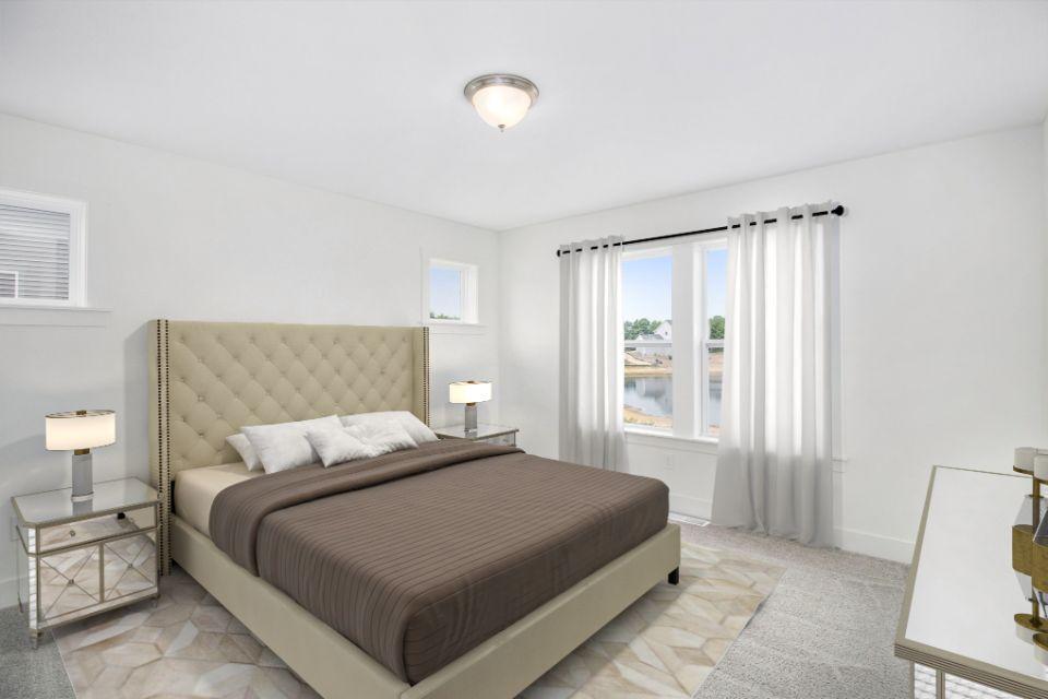 Bedroom featured in the Elements 1800 By Allen Edwin Homes in Grand Rapids, MI