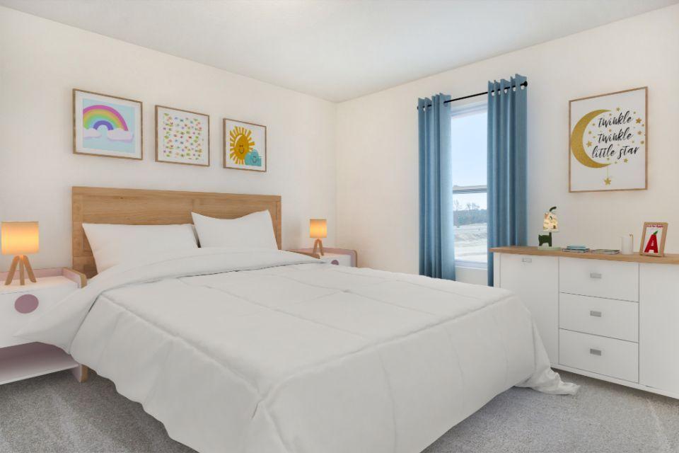 Bedroom featured in the Elements 2070 By Allen Edwin Homes in Flint, MI