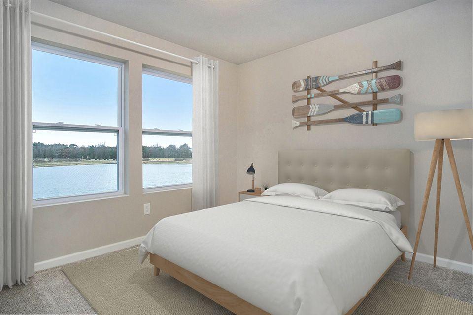 Bedroom featured in the Elements 2070 By Allen Edwin Homes in Kalamazoo-Battle Creek, MI