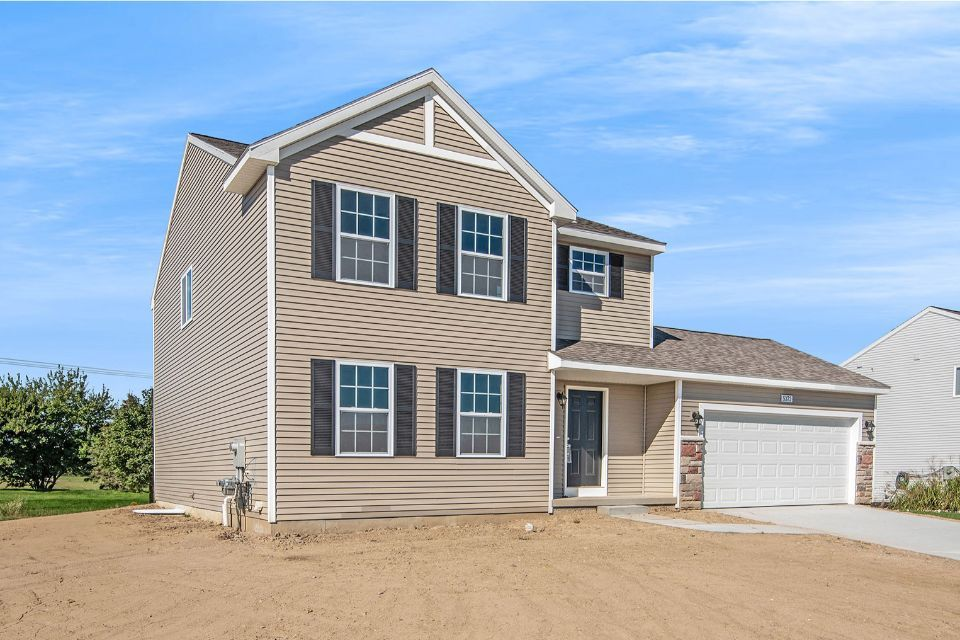 Exterior featured in the Integrity 1830 By Allen Edwin Homes in Flint, MI