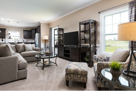 Greatroom-and-Dining-in-Elements 2600-at-The Oaks-in-Dewitt