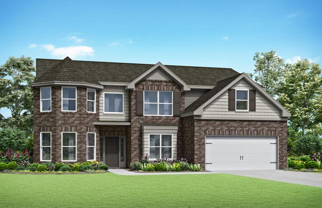 Two-Story with Open Media Room:The Claire