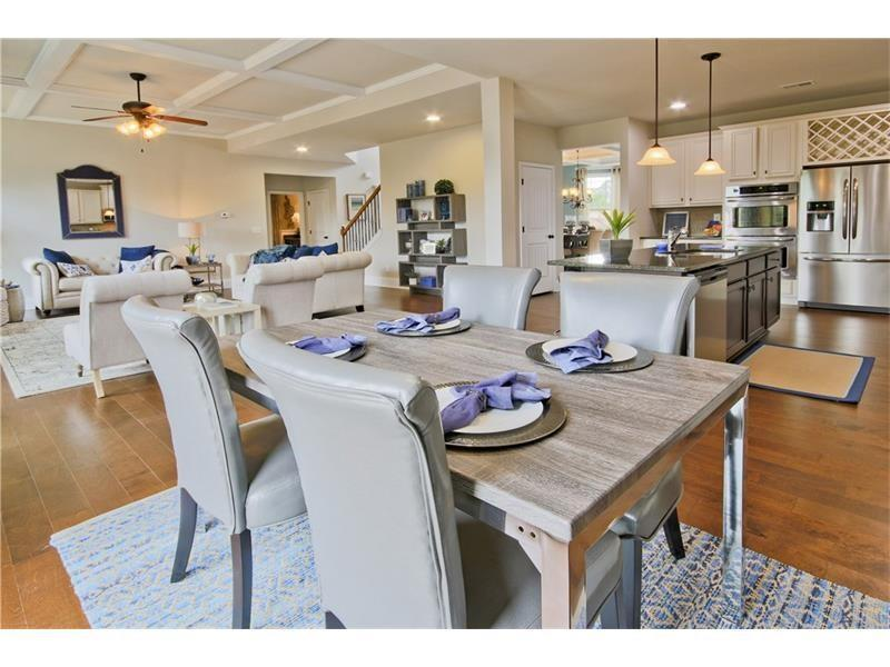 Greatroom-and-Dining-in-The Charleston-at-Twin Bridges-in-Buford