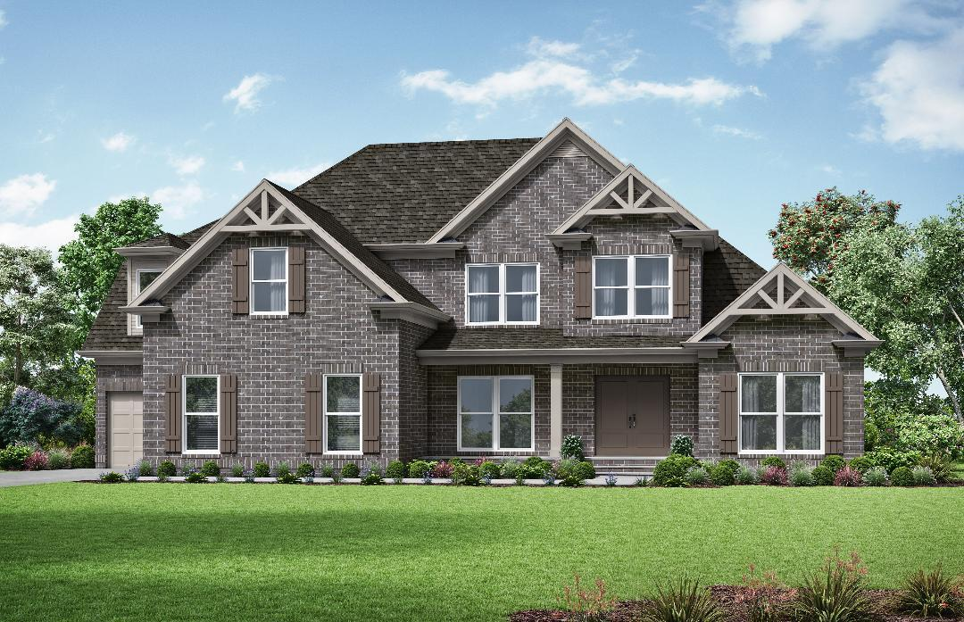 Exterior featured in The Sophia By Almont Homes in Atlanta, GA