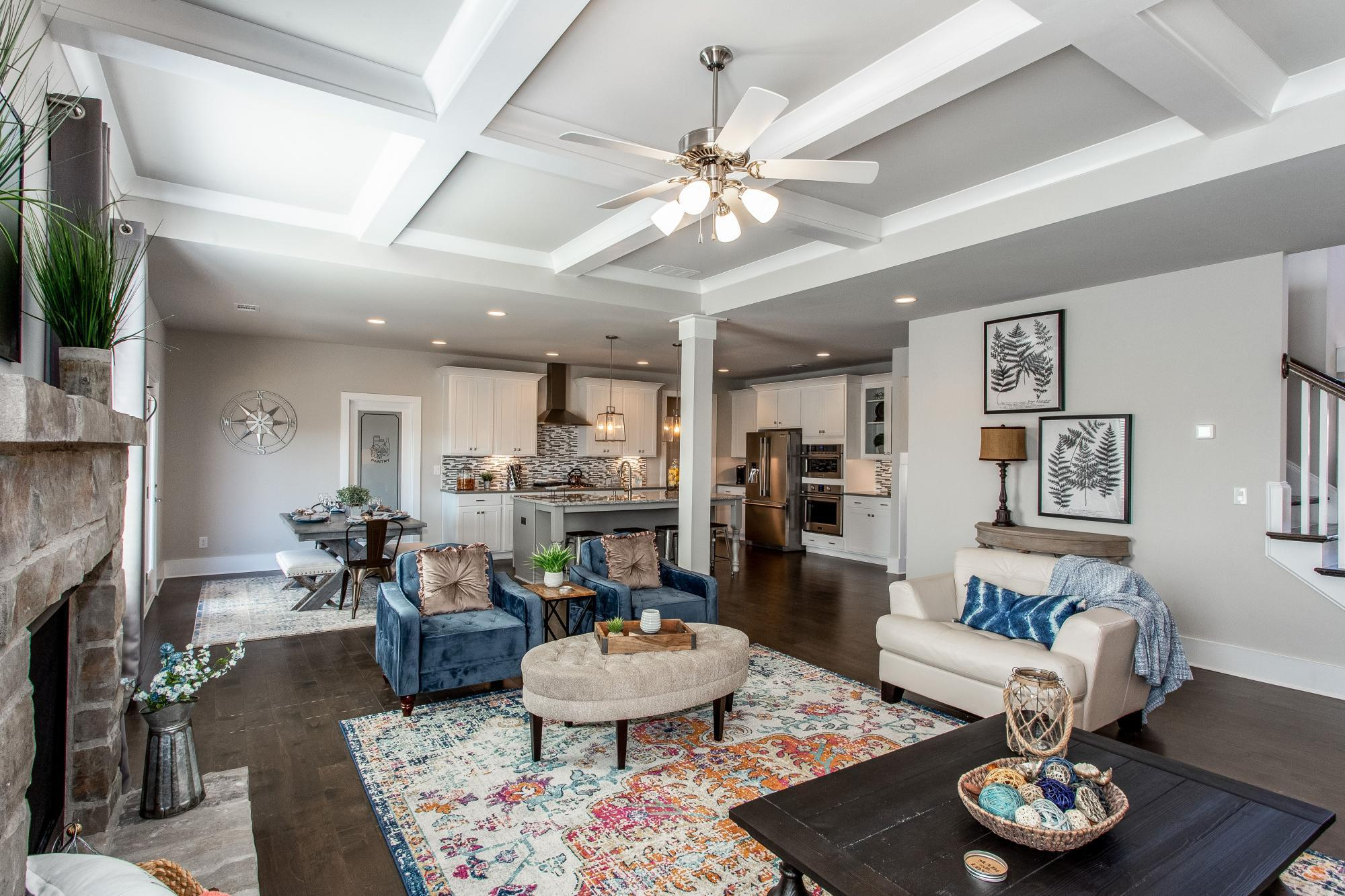 Living Area featured in The Charleston By Almont Homes in Atlanta, GA