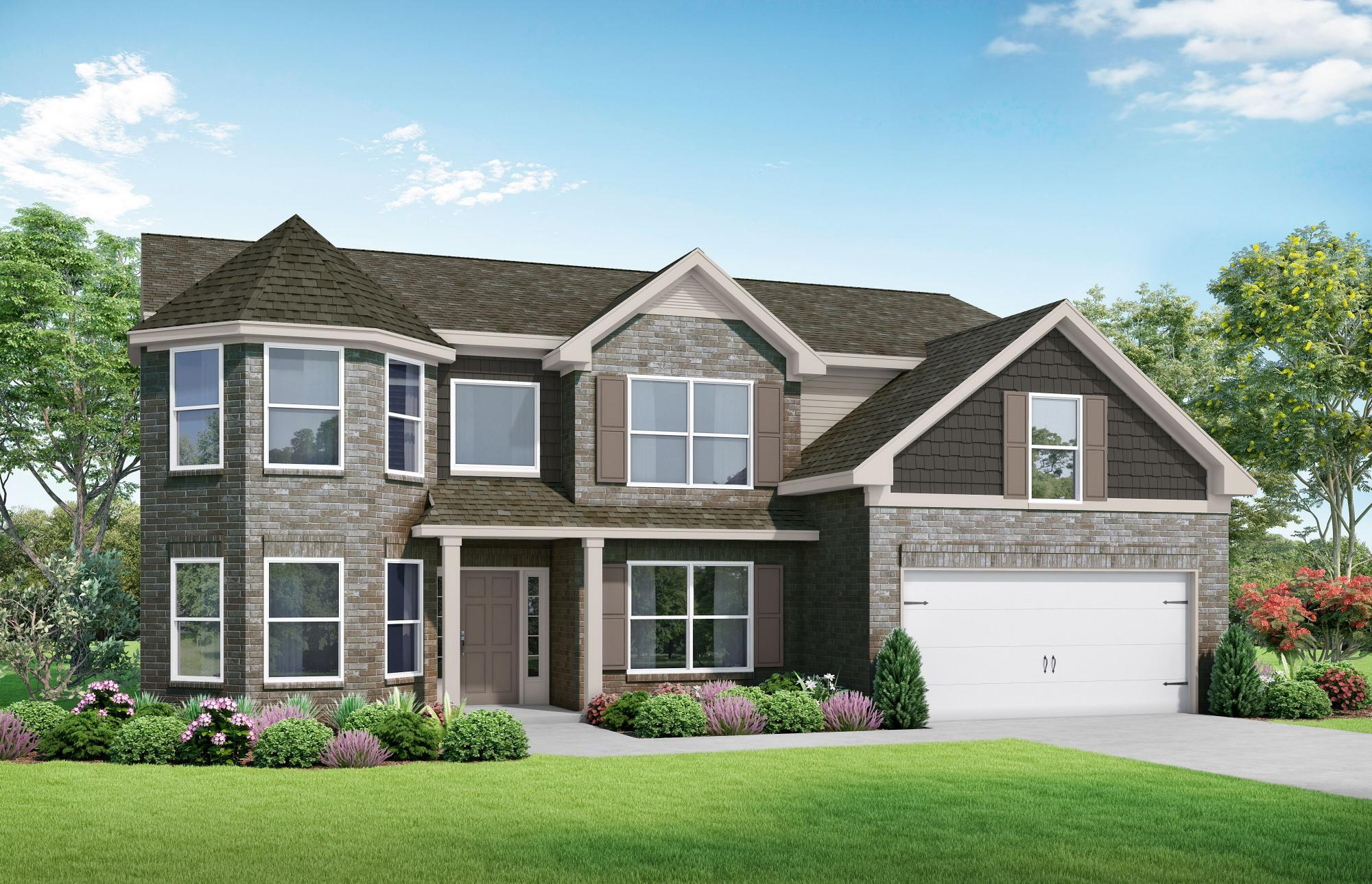 Exterior featured in The Claire By Almont Homes in Atlanta, GA