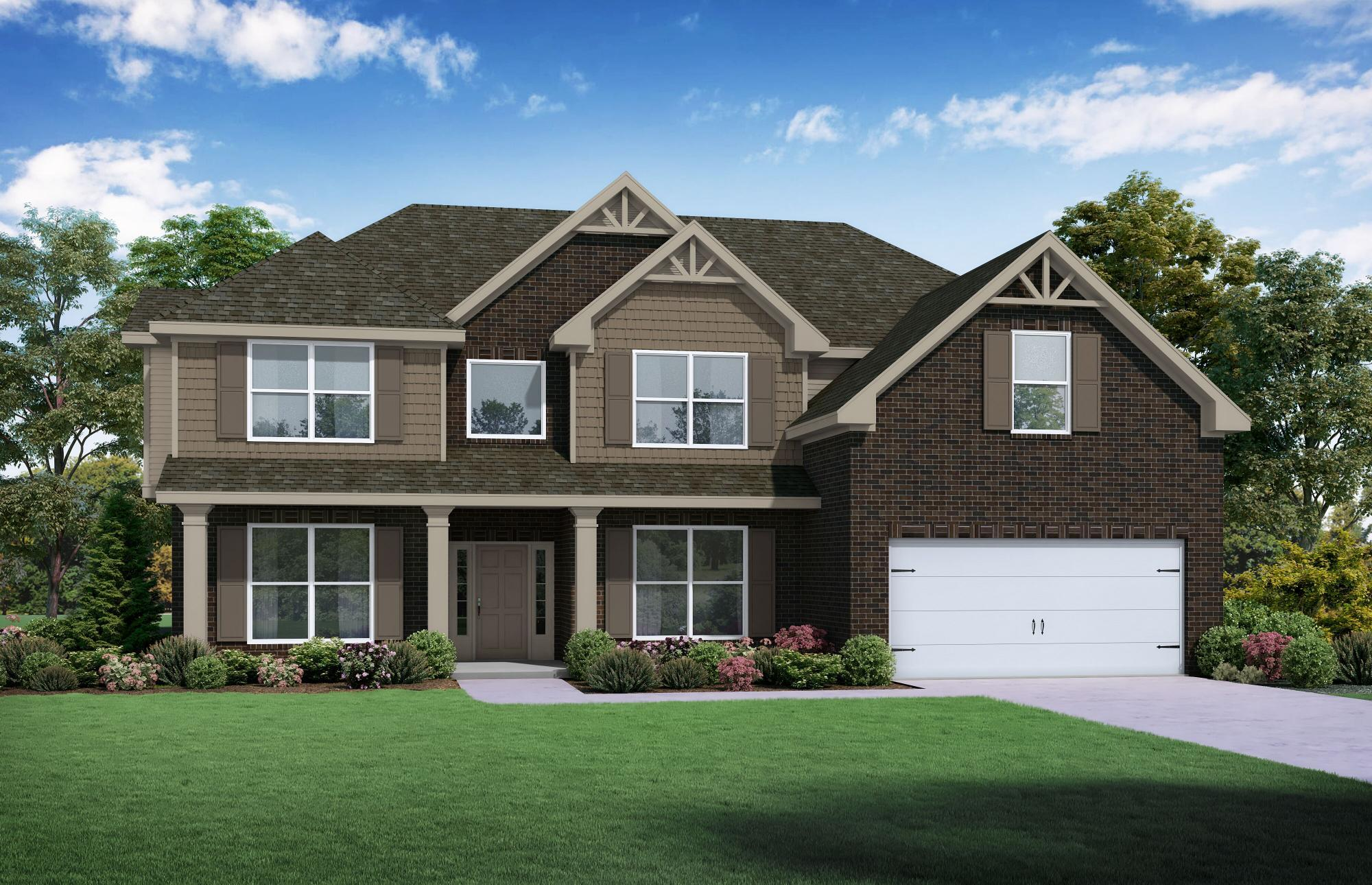Exterior featured in The Colton By Almont Homes in Atlanta, GA