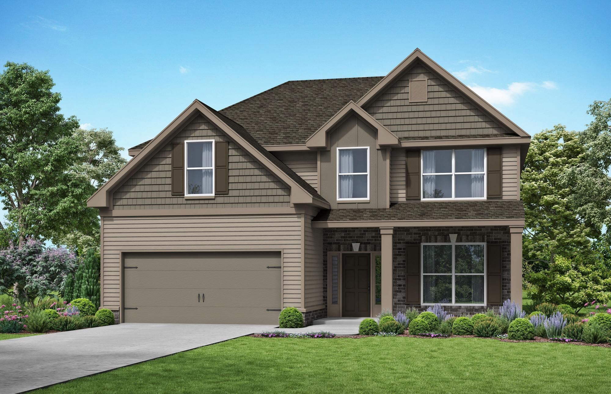 Exterior featured in The Woodford By Almont Homes in Atlanta, GA