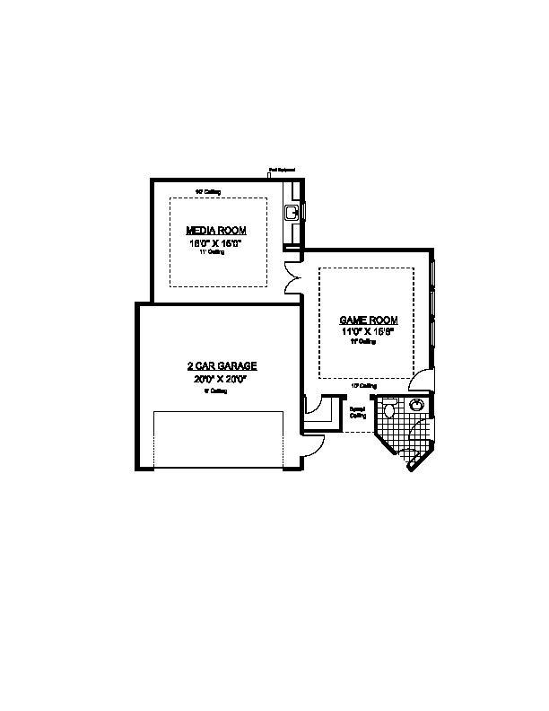 Optional Second Bedroom