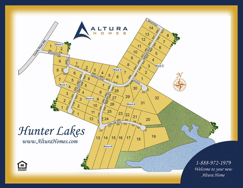 Hunter Lake Plat