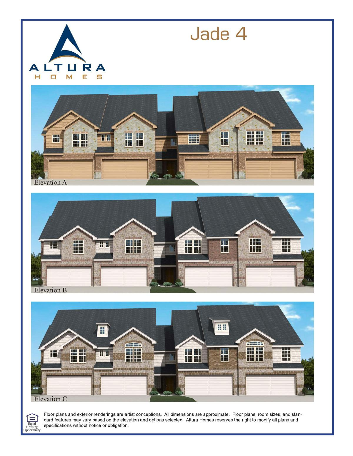 townhomes greenville altura homes