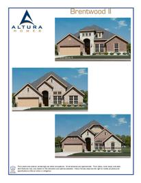 Brentwood II - Meadows at Morgan Creek: Royse City, Texas - Altura Homes