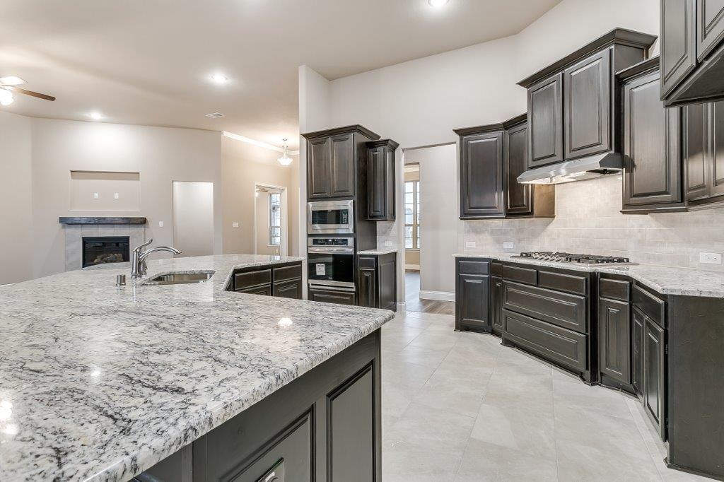 Kitchen featured in the Fleetwood By Altura Homes in Dallas, TX