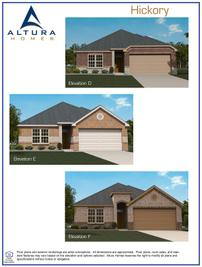 Hickory DEF - Cottonwood: Greenville, Texas - Altura Homes