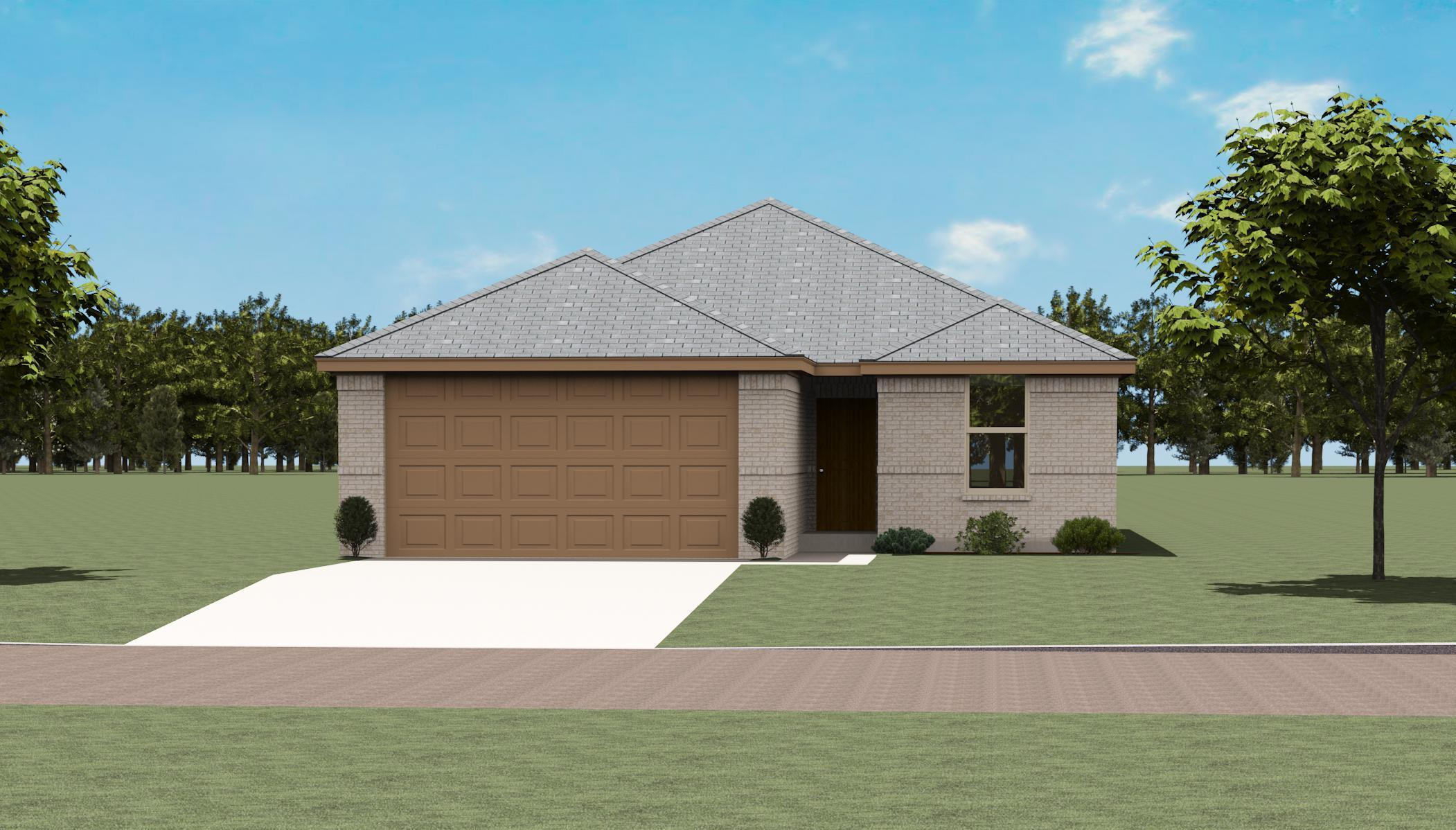 Exterior featured in the Richland By Altura Homes in Dallas, TX
